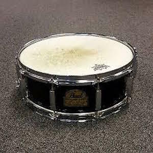 Drum snares and cymbals