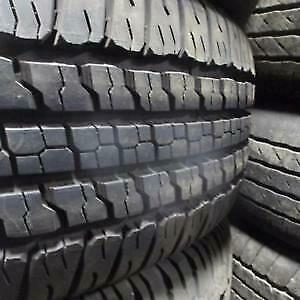 4  P265 70R18 GOODYEAR WRANGLER TIRES. ( NEW CONDITION)
