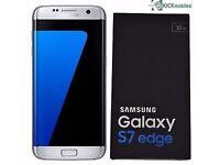 Samsung Galaxy S7 Edge SM-G935F - 32GB - Silver Titanium- NEW