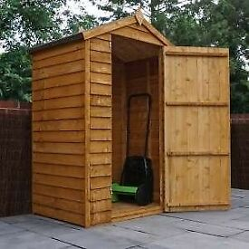 Shed and playhouse, new with fixing kit, instructions, felt, in panels to take away *slight seconds*
