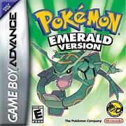 Pokemon Emerald GBA