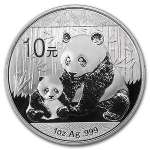 2017 Chinese Panda Silver Coin