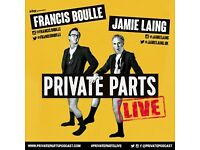 PRIVATE PARTS WITH JAMIE LAING & FRANCIS BOULLE