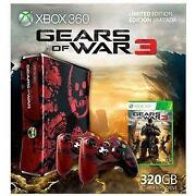 Xbox 360 Gears of War 3 Console