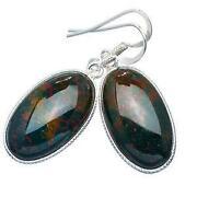 Bloodstone Earrings