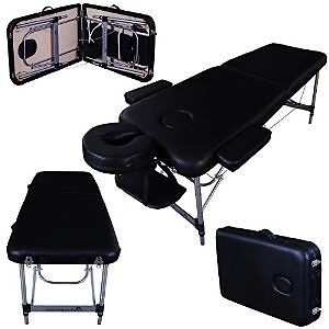 Table de massage portable aluminium DELUXE