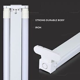 4FT Twin Batten Fitting – with 2 LED Tubes (UPGRADE YOUR FLUORESCENT TUBE)