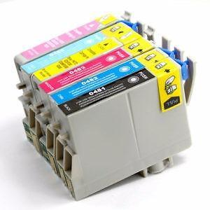 Epson T048, T048120/T0482/T0483/T0484/T0485/T0486 COMP Cartridge