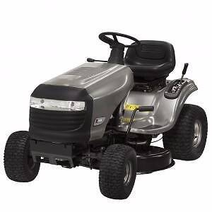 "CRAFTSMAN RIDE ON MOWER 17.5 HP 38"" CUT FREE LARGE WHEEL TRALIER Port Kennedy Rockingham Area Preview"