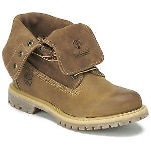 TIMBERLAND WOMEN'S AUTHENTICS FOLD-DOWN BOOTS, LEATHER