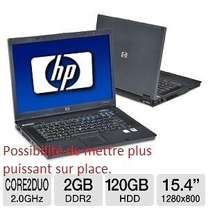Portable HP Compaq Core 2 duo