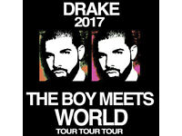 Drake: The Boy Meets World Tour 5 MEET & GREET Tickets