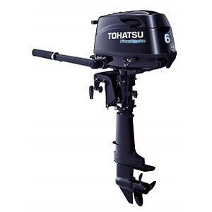BRAND NEW 6 HP Tohatsu Motor - With Remote Tank