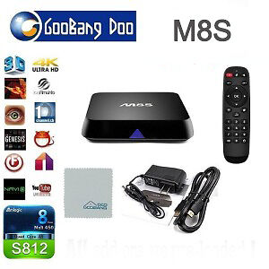 Android TV Box M8S Goobang pc
