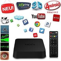 NEW MXQ ANDROID 4 QUAD PROCESSOR WIRELESS TV BOX