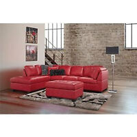 Sectional couch/ canapé sectional-new!!