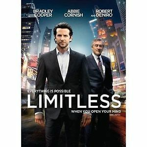 Limitless DVD Movie. Own your own copy now