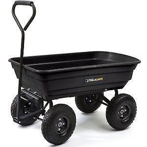 Garden Tractor Carts