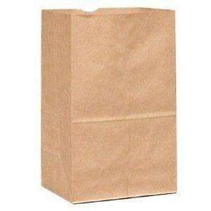 Big Value White Paper Crafting Bags 40 Pk