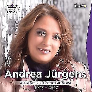 ANDREA JÜRGENS - 40 JÄHRIGES JUBILÄUM 1977-2017 - 18 CD NEU/OVP