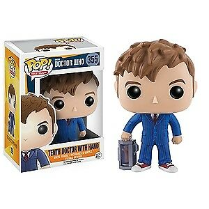MIB Funko Pop Vinyl Doctor Who:  Tenth Doctor with Hand