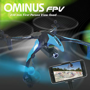 Drone RC Ominus Quadcopter with Camera, New in the Box