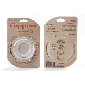Cuppow Canning Jar Drinking Lid Wide Mouth *Brand New in Pack* M