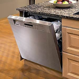 """Miele 24"""" dishwasher, stainless steel, 1 yr old, paid over $2000"""