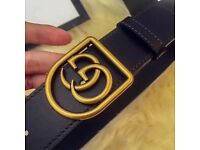 Gucci belt framed