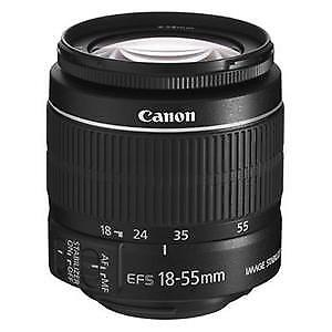Canon 18-55mm IS II lens