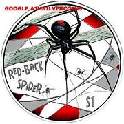 Red Back Spider Coin
