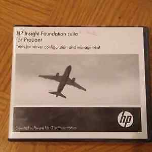 HP Insight Foundation suite for ProLiant