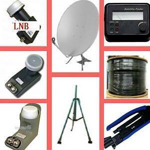 Weekly Promotion! Satellite Dish, Satellite LNB, satellite LNB Holder, ProfessionalTripod for Satellite Dish,