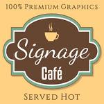 Signage Cafe