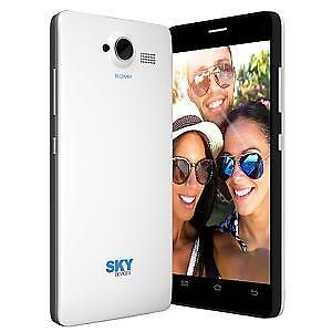 "SKY 5.0W 5"" UNLOCKED DUAL SIM SMARTPHONE - WHITE"