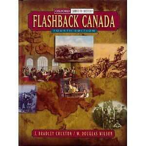 Flashback Canada Fourth edition History textbook London Ontario image 1
