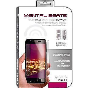 MENTAL BEATS IPHONE 6 TEMPERED GLASS SCREEN PROTECTOR