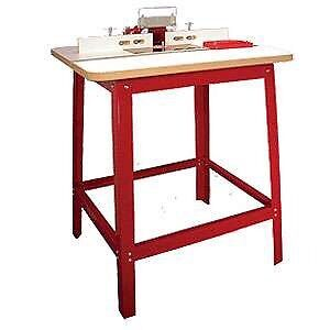 Freud router and table!