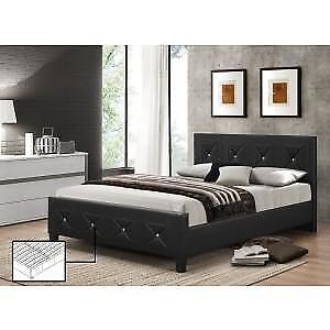 Black Bed with Crystals web exclusive deal (IF742)