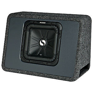 Kicker Solo-Baric L3 10in Car Subwoofer W/ Enclosure-NEW IN BOX