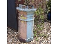 HEXAGONAL VICTORIAN CHIMNEY POT