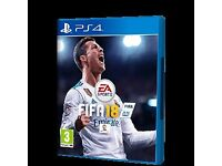 Fifa 18 ps4 (used)