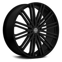 """24"""" Rim & tire packages now ONLY $2250 set @ Trucks Plus!!"""