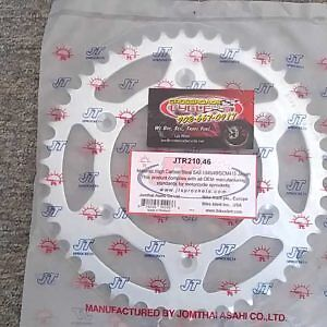 1984 - 2017 Honda CRF450X  Rear Sprocket (46T)