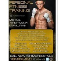 Professional Boxer Offering Personal Training