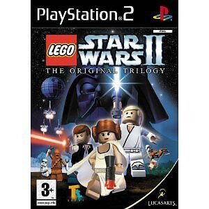 LEGO STAR WARS II ORIGINAL TRILOGY PS2 GAME brand new & SONY sealed UK ORIGINAL!