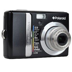 Polaroid 12MP 3x Optical/5x Digital Zoom Camera (Black)
