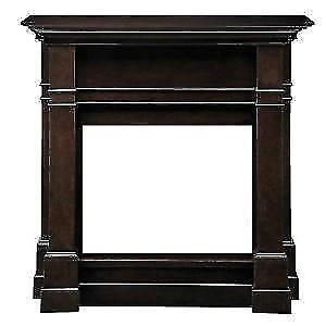 HAMPTON BAY 26inch FIREPLACE MANTLE - brown