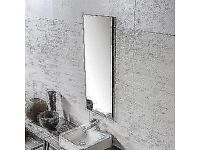White Textured Ceramic Tile (25cm x 60cm)