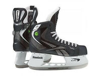 Ice Hockey Boots (Size 8)